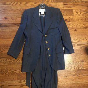 Escada Margaretha Ley Women's Suit Gray US 34